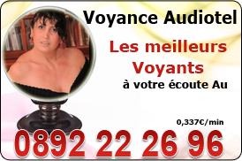 Planning audiotel de voyance Celine Aimée professionnelle de la voyance au 08 92 22 26 96