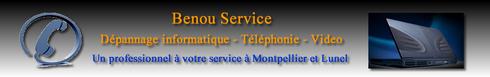 Dépannage ordinateur Montpellier contactez Benou Service pour un dépannage urgent à Montpellier
