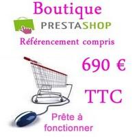Boutique Prestashop Cantal à 1090 € appelez Vas-y ! création de votre boutique Prestashop Cantal