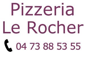 Pizzas Murol avec la Pizzeria Le Rocher